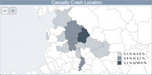 Crash Location Map